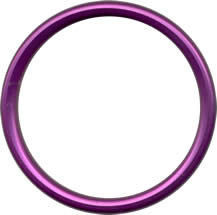 Alluminium sling rings M - PURPLE