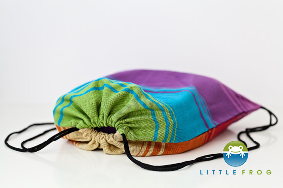 Little Frog Carrier Bag - Linen Agate Choco II