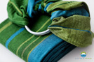 RING SLING LITTLE FROG - AZURITE -size S