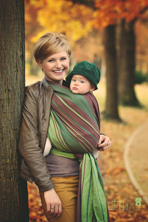 LITTLE FROG RING SLING  - NEPHRITE M (2 m)