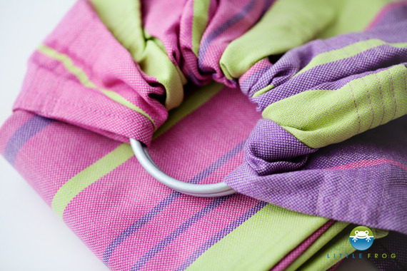 RING SLING LITTLE FROG - ALEXANDRITE S (1,7m)