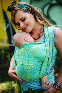 Beloved Baby Wrap Green Abyss  size 6