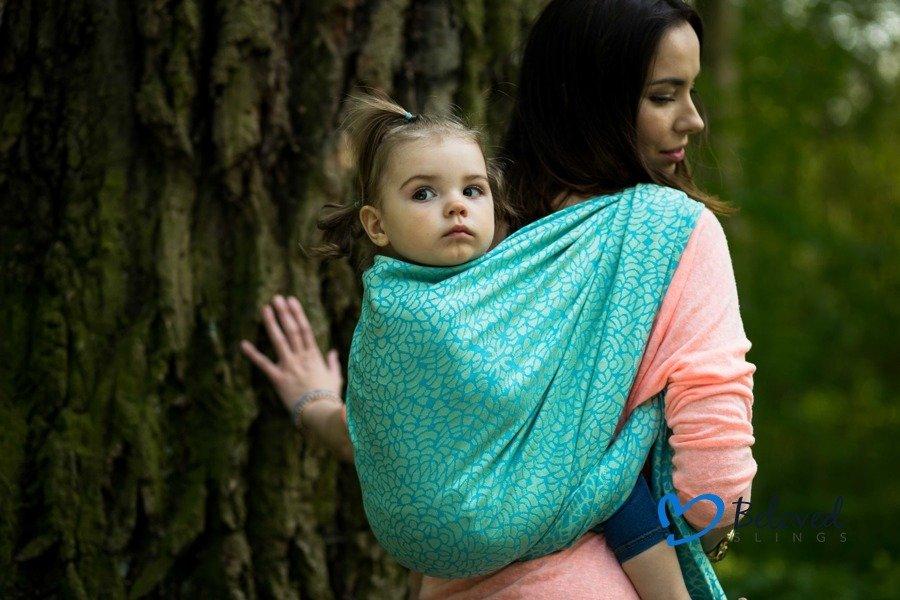 Little Frog Beloved Baby Wrap Flourish Size 4