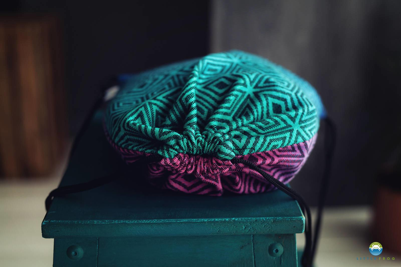 order best sell coupon codes Drawstring Bag for wrap/sling - Dark Aurora Cube
