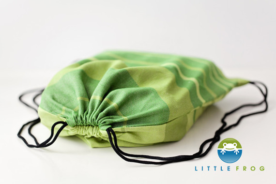 Drawstring Bag for wrap/sling - Linen Beryl