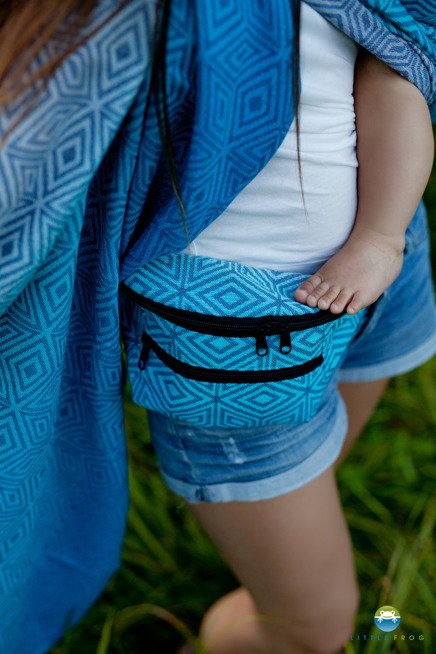 WAIST BAG Little Frog -  ROCKY COAST CUBE
