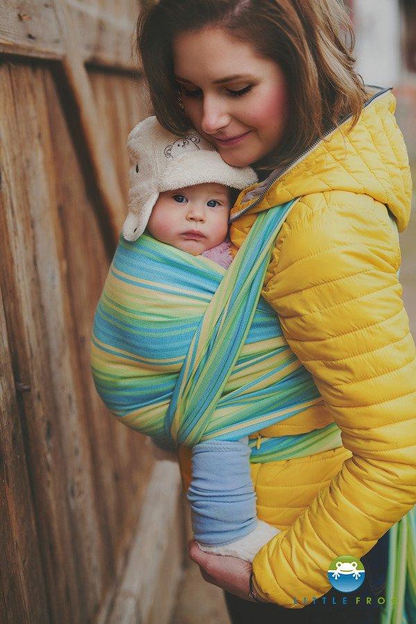Little Frog Tkanye Sling Sharfy Little Frog Woven Wrap Bamboo