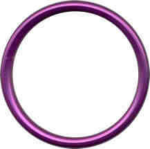 Alluminium sling rings L - PURPLE